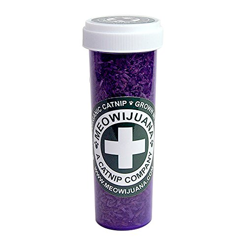 Meowijuana Purrple Passion - Premium Silvervine and Catnip Blend - Purrfect Gift For Cats, Kitties, Felines, and Cat Lovers