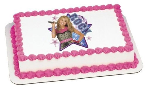 1-4-sheet-hannah-montana-rock-star-birthday-edible-image-cake-cupcake-topper