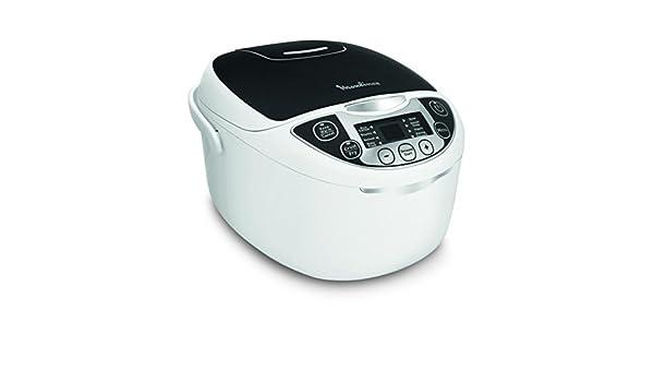 Moulinex Robot de Cocina Multicooker MK7088 - Capacidad 5 L, 750 W, 12 Funciones con Cuba Cerámica de 2 mm: Amazon.es: Hogar
