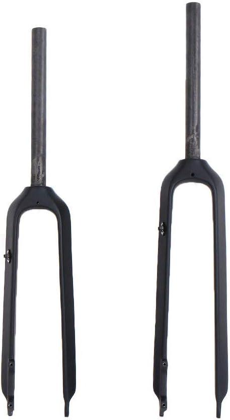 QIKU Fahrradgabel 1-1//8 160mm Scheibenbremse MTB Carbon Fork UD Black
