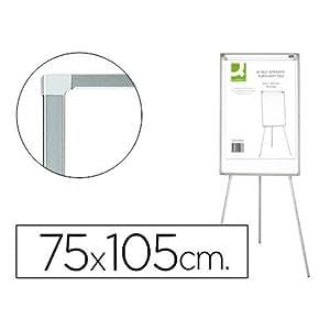 Q-Connect Pizarra Blanca Con Trípode Para Conferencias ...