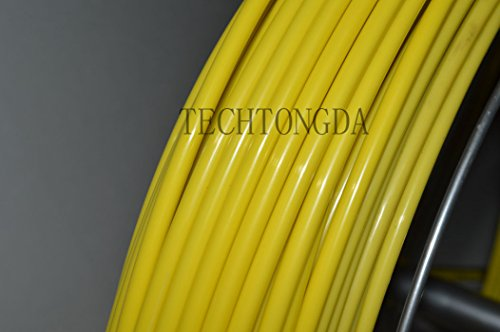 Fish Tape Fiberglass Reel Wire Cable Running Rod Duct Rodder Fishtape Puller 6mm by other (Image #3)