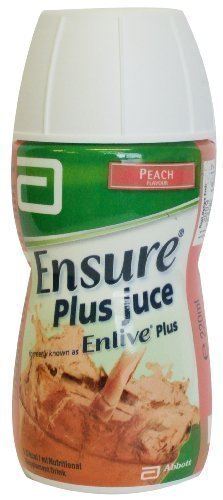 Ensure Plus Juce Peach (Bottle) 220ml by Ensure