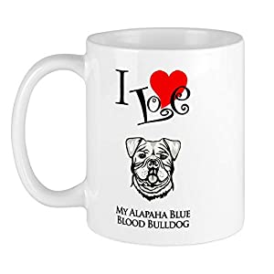 CafePress Alapaha Blue Blood Bulldog Mug Unique Coffee Mug, Coffee Cup 11