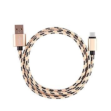 Vimoli Tipo C Cable [2M] Cargador USB C de Nylon Trenzado ...