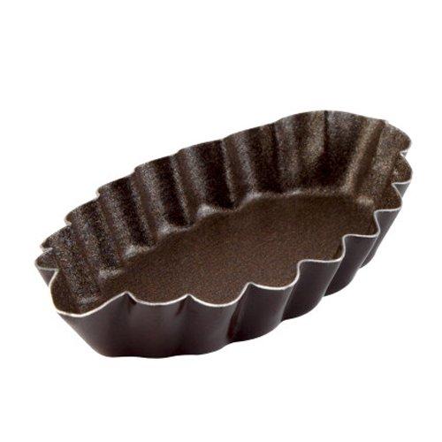 Gobel Nonstick Fluted Barquette Mold 294150 (Barquette Mold)