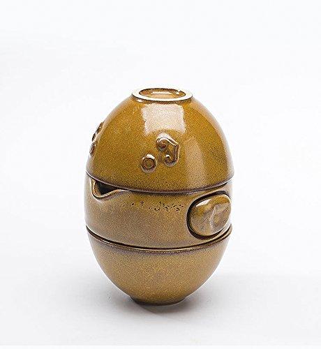 Handmade Chinese Kungfu Tea Portable Travel Tea Set – Teapot  Teacups