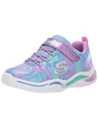 Skechers Kids' Power Petals-flowerspark Sneaker