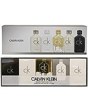 Calvin Klein (CA4AV) Deluxe Travel Collection Eau de Toilette Spray 5 Piece Gift Set for Men, Pack of 5