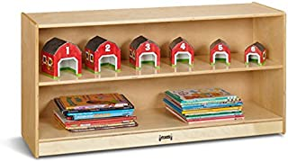 product image for Jonti-Craft 0798JC Toddler Adjustable Mobile Straight-Shelf