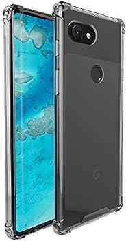 amCase Hybrid Shock Absorbing & Rigid Back Plate Google Pixel 3a XL Case