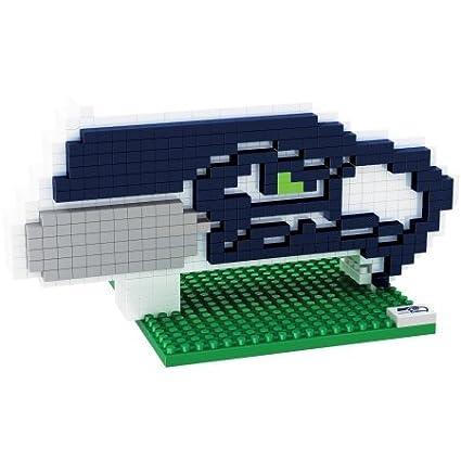 Seattle Seahawks NFL Football Team 3D BRXLZ Logo Puzzle NFL BRXLZ