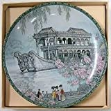 Imperial Jingdezhen Porcelain The Marble Boat Plate China Scenes from the Summer Palace First in the Series