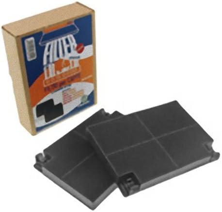 Filtro de carbón para campana extractora, 2 unidades: Amazon.es: Grandes electrodomésticos