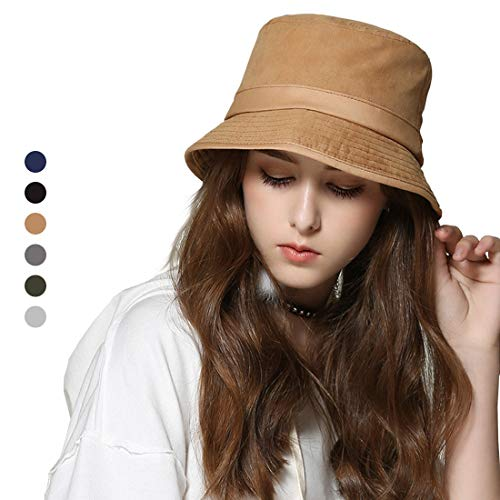 1870bd28 CASZEL Sun hat for Women, Bucket Hat for Summer Holiday Tourist Fishing  Anti-UV Sun Protection UPF 50+