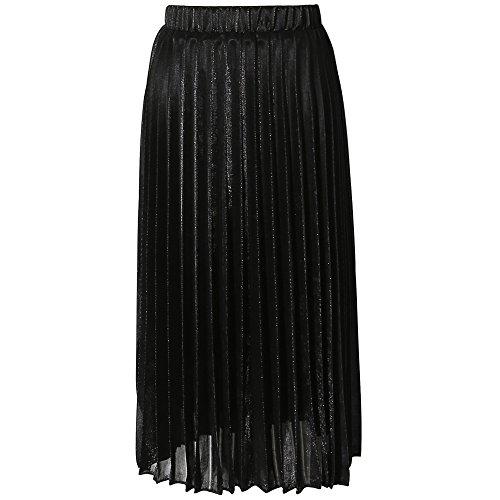 CHICING - Falda - plisado - para mujer negro