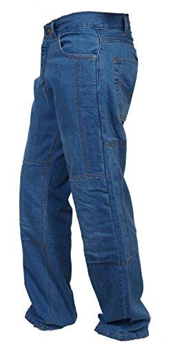 Motorcycle Denim Jeans - 6