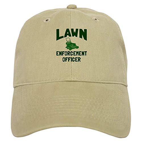 Lawn Enforcement Officer - Baseball Cap with Adjustable Closure, Unique Printed Baseball ()