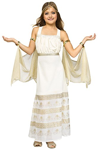 (Fun World Golden Goddess Costume for Kids)