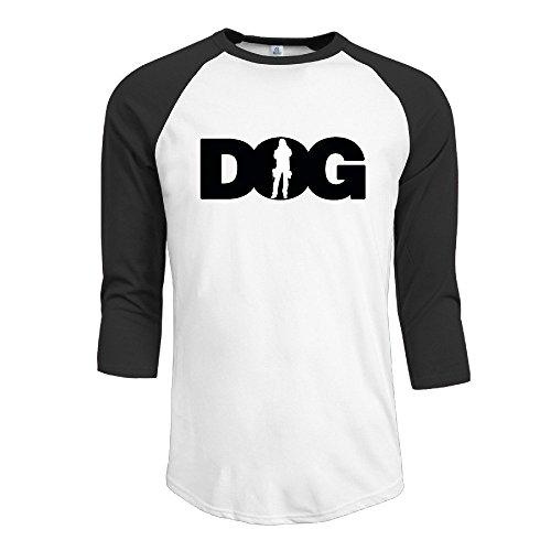 Boy Dog The Bounty Hunter 3/4 Sleeve Cotton Baseball Tshirts -