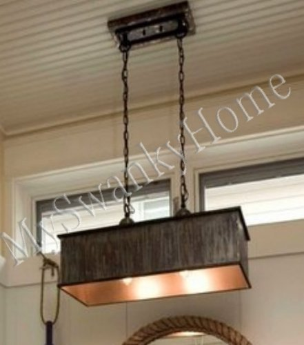 Metal Pendant Chandelier - 2 Light ()