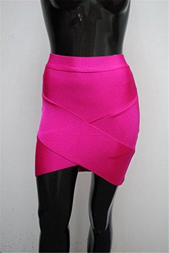 FASHION PARK Trendy Women Mini Sexy Slim Pencil Clubwear Black Gray Rose Green (Yakima Wa Stores)