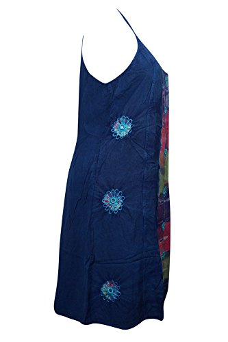 Damen blau Cocktail Interior blau 1 Kleid Mogul Blue 7n5TAq