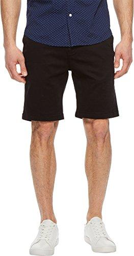 34 Heritage Men's Nevada Shorts In Black Twill Black 34 9.5 by 34 Heritage