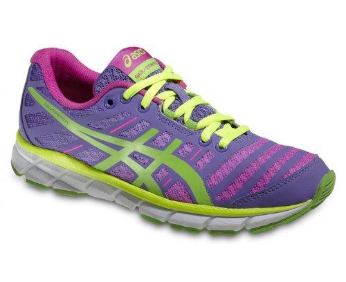 Asics - Zapatillas de running para mujer Rosa-Verde-Violeta