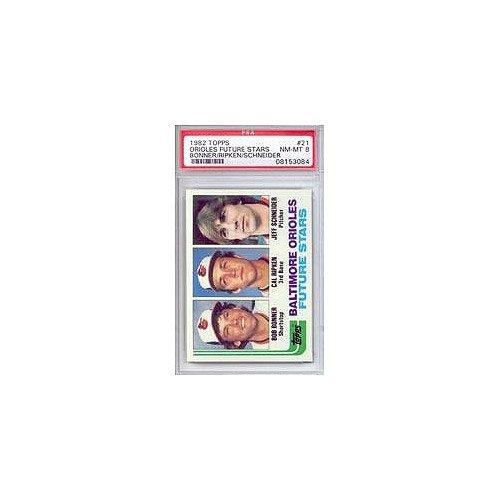 1982 Cal Ripken Jr. Topps Baseball MLB Rookie Cards - Professionally Graded a PSA 8 (Baltimore Orioles) 1982 Topps Mlb Card