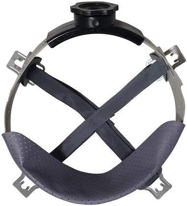 MSA Skullgard Skullgard Full Brim Natural Tan Hard Hat with Old Style Fas-Trac II Suspensions by MSA (Image #4)