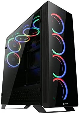 Talius Caja ATX Gaming Leviathan Spectrum- Frontal y Lateral de ...