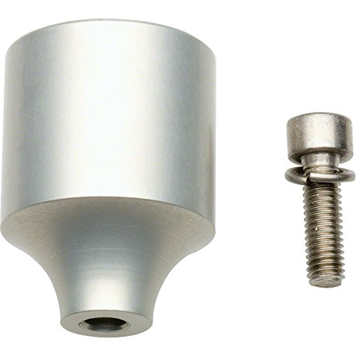 Paul Components Gino Light Mount fits Braze-ons, Silver