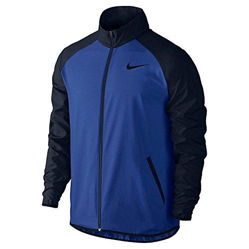 Nike Mens Dri-Fit Team Jacket, Xl, Blue