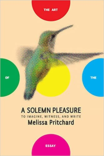 a solemn pleasure to imagine witness and write the art of the a solemn pleasure to imagine witness and write the art of the essay melissa pritchard bret anthony johnston 9781934137963 com books