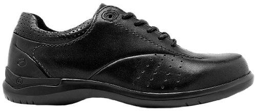 Aravon Women's Farren Walking Shoes,Black Leather,7.5 2E US
