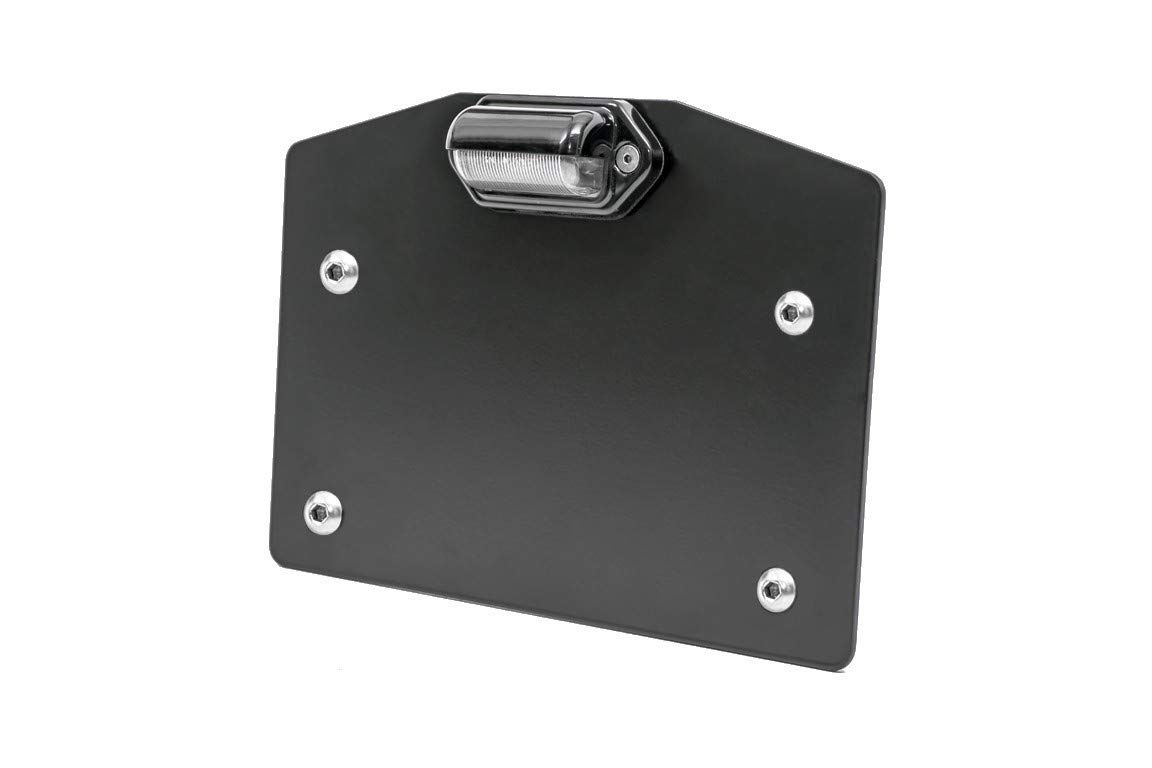 UTV INC Can Am Maverick X3 LED Lighted License Plate Mount by UTV Products