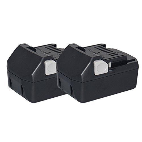 【2台セット】 日立 HITACHI バッテリー リチウ ムイオン電池 BSL1830 BSL1860 対応 大容量 容量2倍 6000mAh 互換 18V サムスン SAMSUNG 製 高性能セル B0788K3WBN  2個セット 6000mAh