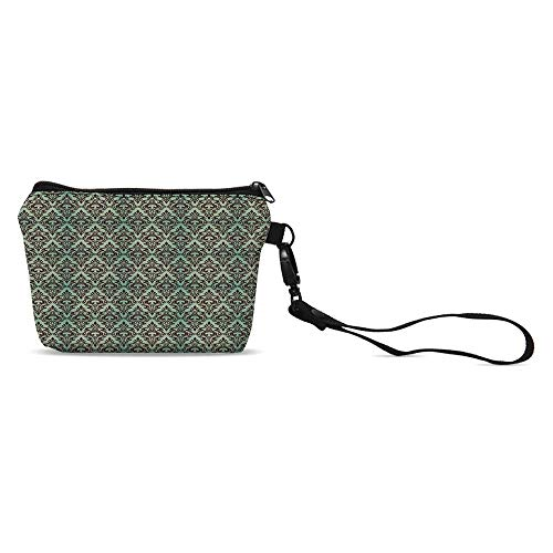 (Damask Simple Coin Purse,for Women,5.9