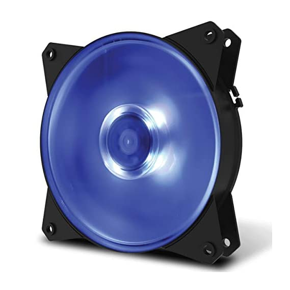 Deepcool GAMMAXX 400 PRO Blue LED CPU Cooler with Latest Intel/AMD Support (DP-MCH4-GMX400PRO-BL) (Black)