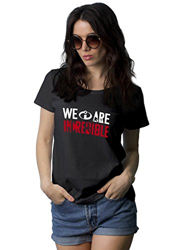 Black T Shirt for Womens - Graphic Tees for Women | We are, XXL]()