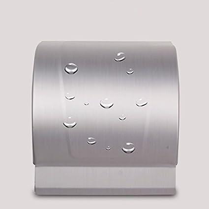 MDRW-Accesorios De Baño Titular De Papel Higiénico Papel Higiénico Toalla Espacio Cuadrangular De Aluminio