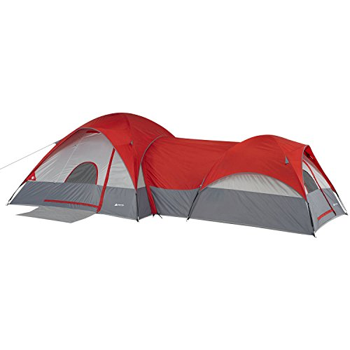 Ozark-Trail-4-Windows-17-X-9-Dome-Connectent-with-Tunnel-46-Sleeps-8-Camping-Hiking-Tent-Gray
