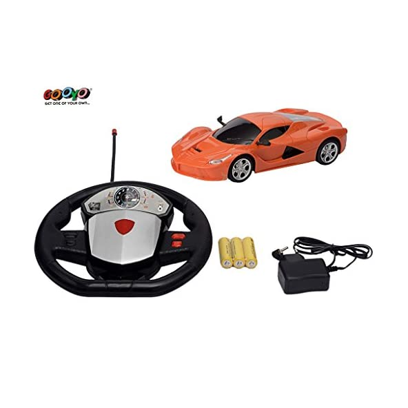 Gooyo Super Full Function Radio Remote Control 1:22 Scale High Speed Toy Racing Car with Gravity Sensor , Dangling Control for Boys/Kids