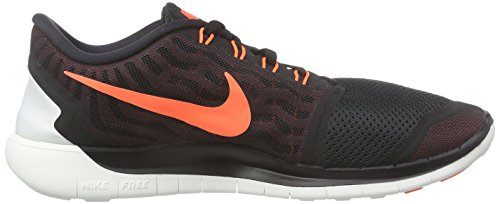 Mens-Nike-Free-50-Running-Shoe-BlackUniversity-RedWhiteHyper-Orange-Size-10-M-US