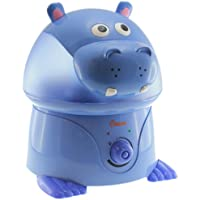 Crane Filter-Free Cool Mist Humidifiers for Kids, Hippo
