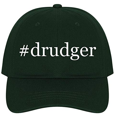 (The Town Butler #Drudger - A Nice Comfortable Adjustable Hashtag Dad Hat Cap, Forest, One Size)