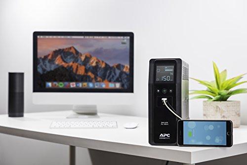 APC Battery Backup & Protector, 1500VA, APC Pro