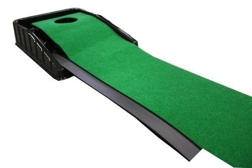 Golf Putting Mat Aid Practice Green Cup Indoor Office Home Automatic Electric by Putt-A-Bout (Image #1)