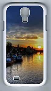 Samsung Galaxy S4 Case and Cover - Regensburg Sunset Designer PC Case Cover For Samsung Galaxy S4 / SIV / I9500 - White